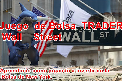 Juego  de Bolsa  TRADER Wall    Street