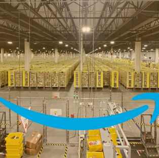 Amazon Distribution Center.