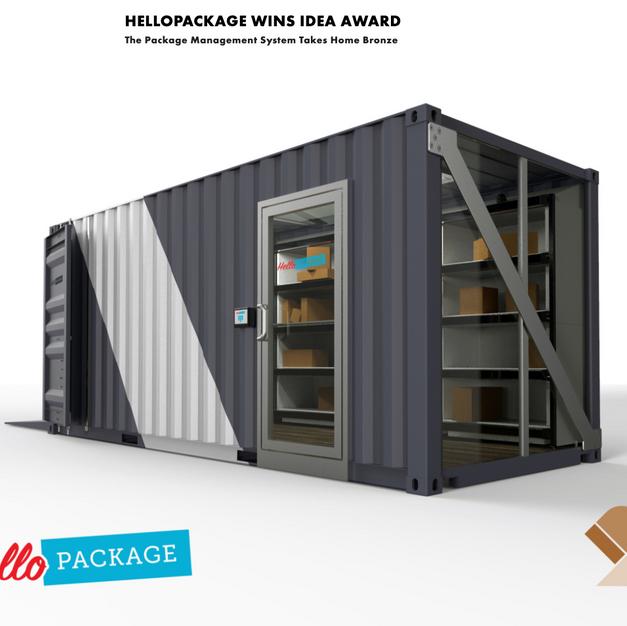 HelloPackage wins prestigious 2019 IDEA Award.
