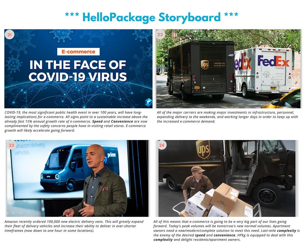 HelloPackage Storyboard - (pg 8), 0500 A