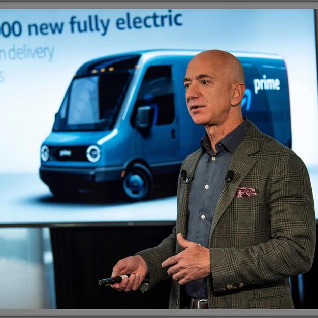 Amazon is buying 100k new electric vans.