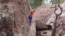 Albarracin Bouldering and staying plastic free.