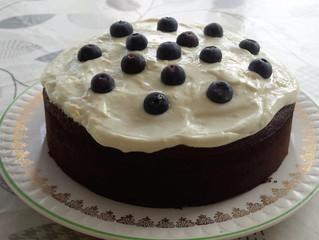 Cannellini bean cake