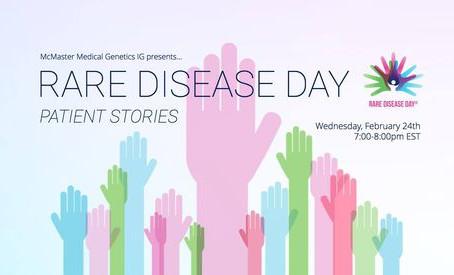 Sharing Ella's journey on rare disease day 2021