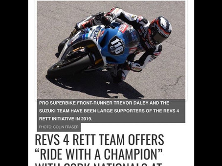 Ride with a Champion!