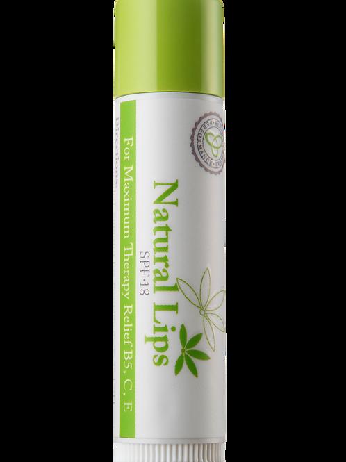 Natural Lips SPF 18