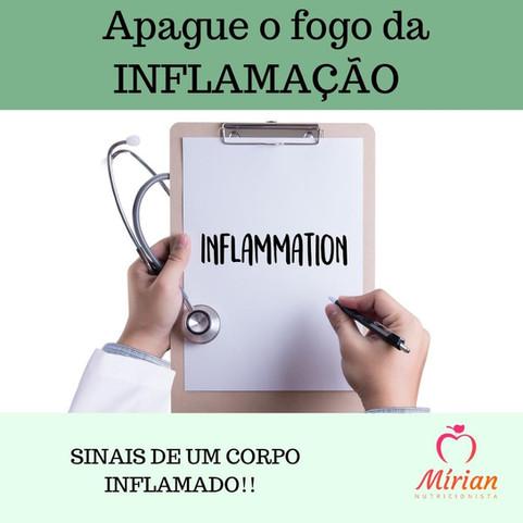 Devo me preocupar com a inflamação?