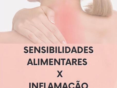 Sensibilidades alimentares x Inflamação