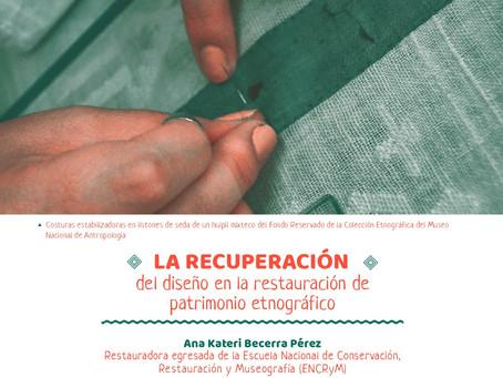 La recuperación del diseño en la restauración de patrimonio etnográfico