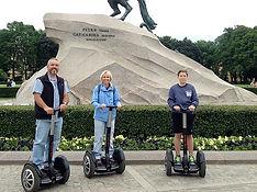 Saint-Petersburg tours segway rent