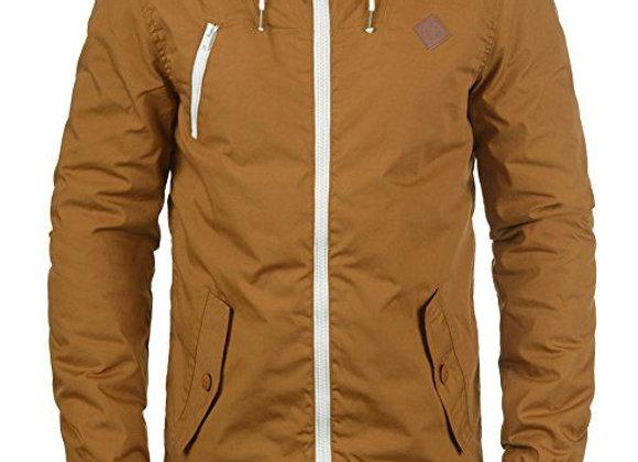 Men's Warm Zip Front Military Cargo Jacket