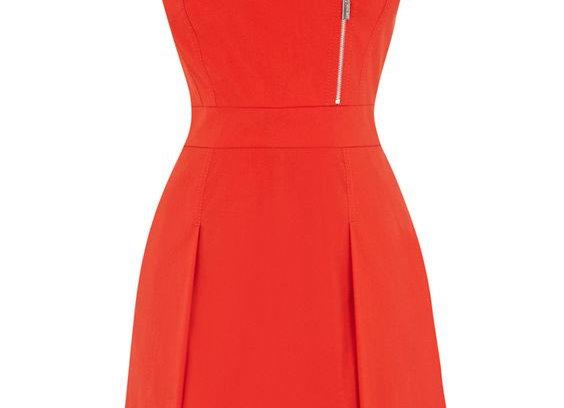 Sleeveless Red Stunning Dress for Women