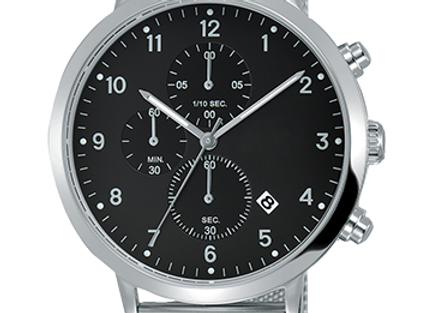 Amazing Black Dial Stainless Steel Men's Watch