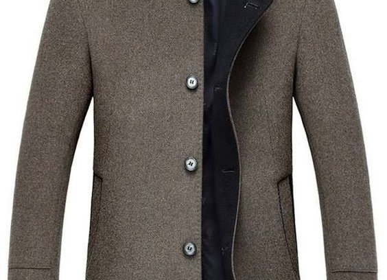 Casual Navy Blue & Hazelwood Colour Stunning Jackets For Men's