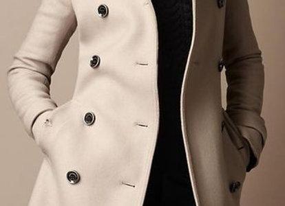 Women's Outwear Long Jacket Slim Flare Zipper Coat