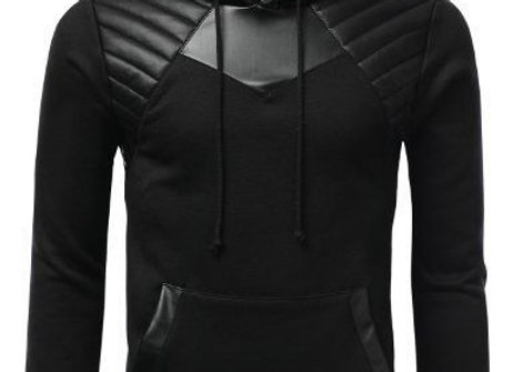 Fashionable Leather Stylish Long Sleeves Jackit