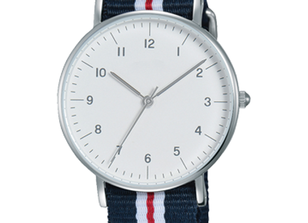 Cotton Belt With White Dial Stunning Watch