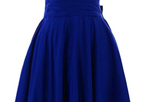 Short Sleeves Indigo Amazing Dress For Womens