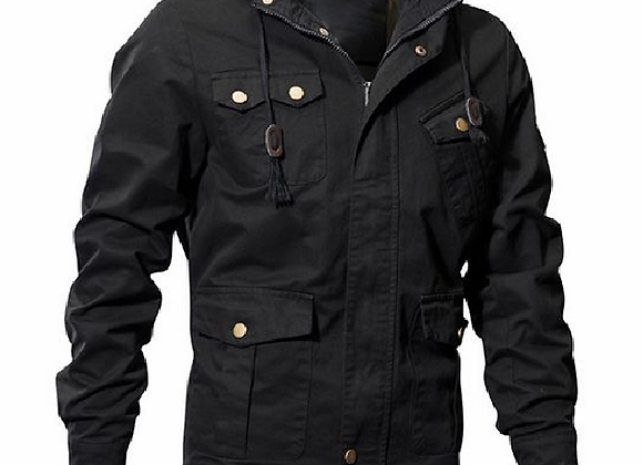 Men's Casual Winter Cotton Military Jackets