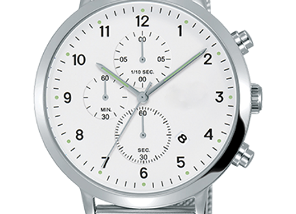 Impressive Stainless Steel Watch