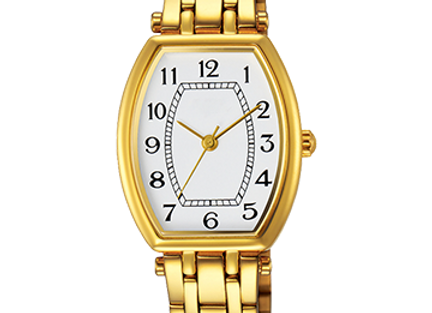 Golden Bracelet Watch