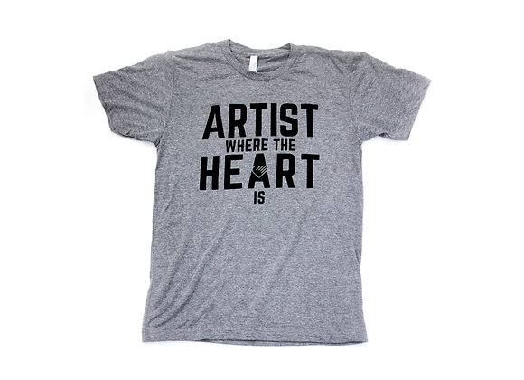 Artist Where The Heart Is Tee