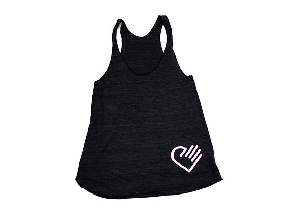 Racerback - Heathered Black
