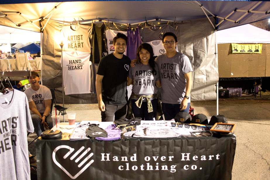 Hand over Heart x First Friday