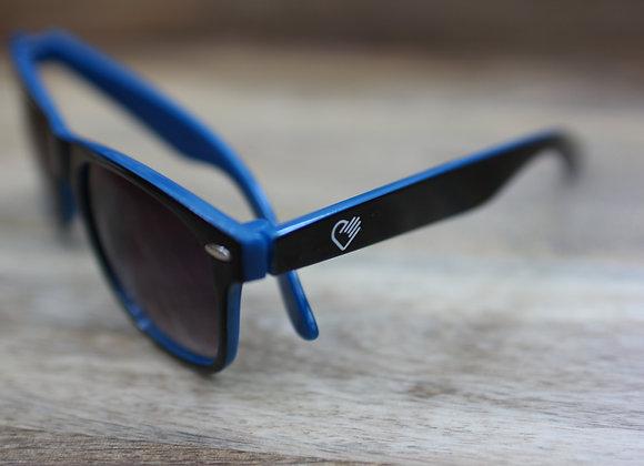 Black/Blue Wayfarer