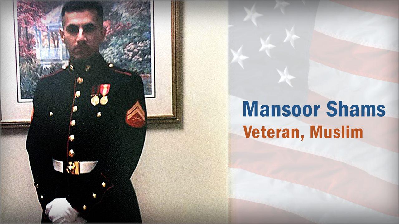 Mansoor Shams: Veteran, Muslim