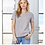 Thumbnail: Up Yonder Ladies Relaxed Jersey V-Neck