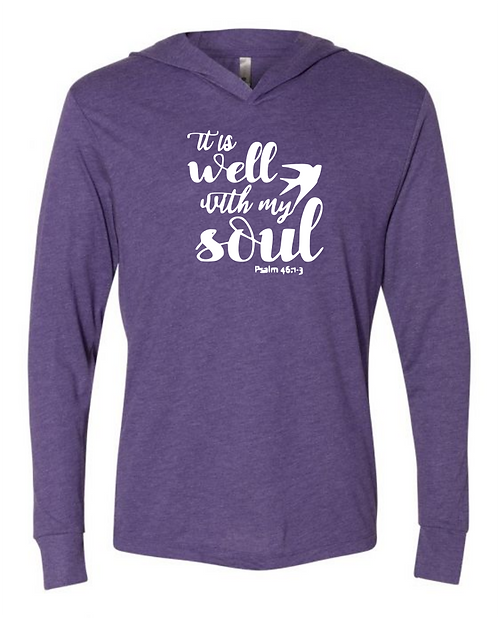 Well With My Soul Unisex Triblend T-Shirt Hoodie
