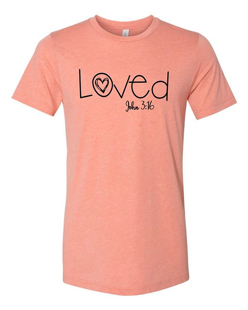 Loved 2 Unisex Triblend T-Shirt
