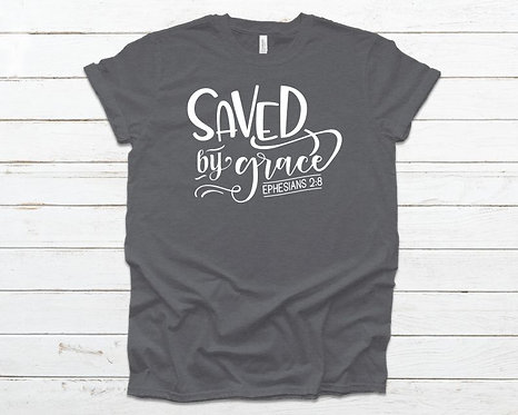 Saved By Grace Classic Tee (Unisex)