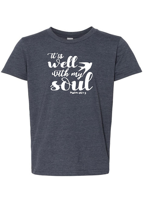 Well With My Soul Youth Tee