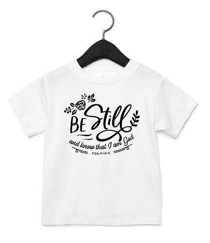Be Still Toddler Tee