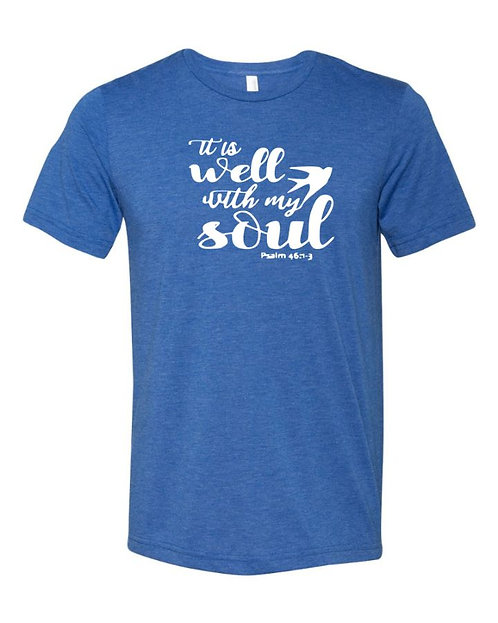 Well With My Soul Unisex Triblend T-Shirt