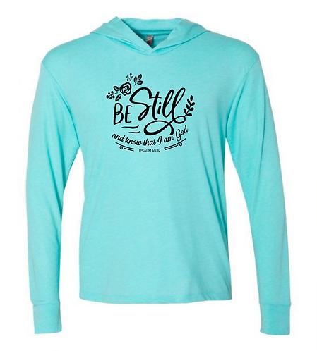 Be Still Unisex Triblend T-Shirt Hoodie