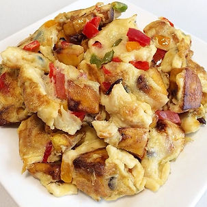Egg and plantain fry by Ymmieliciouz Foo