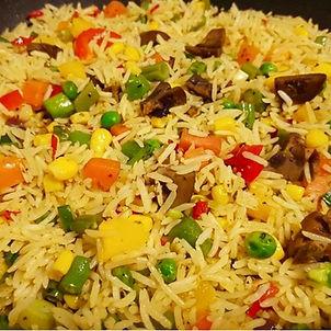 Fried rice (with basmati rice) by Ymmiel
