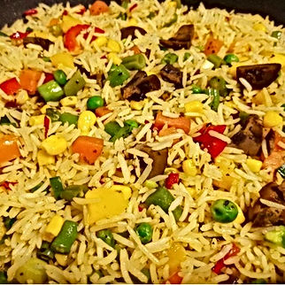 Fried rice (with basmati rice) by Ymmiel