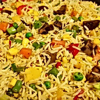 Perfect and rich fried rice recipe byYummieliciouz Food Recipes
