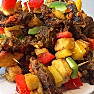 Dodo gizzard on skewers by Ymmieliciouz