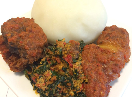 AUTHENTIC POUNDED YAM (MADE WITHOUT PESTLE & MORTAR)
