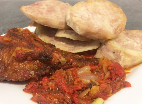 FRIED COCOYAM | COCO | KOKO RECIPE