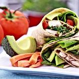 Vegetarian Sandwich Wrap