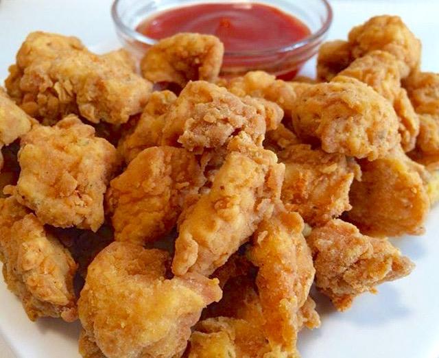 KFC-style chicken popcorn