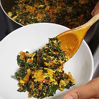 Efo elegusi | vegetable soup by Yummieliciouz Food Recipes