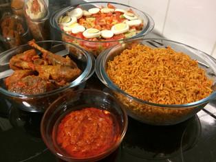 NIGERIAN JOLLOF RICE (BASMATI EDITION)