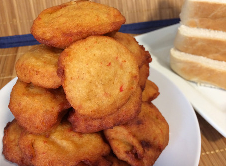AKARA | BEAN CAKE (MADE WITH UNPEELED HONEY BEANS)